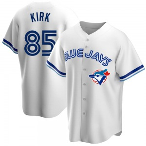Alejandro Kirk Toronto Blue Jays Youth Replica Home Cooperstown Collection Jersey - White