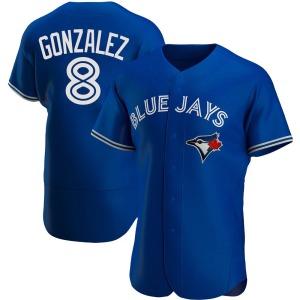 Alex Gonzalez Toronto Blue Jays Authentic Alternate Jersey - Royal