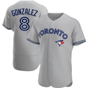 Alex Gonzalez Toronto Blue Jays Authentic Road Jersey - Gray