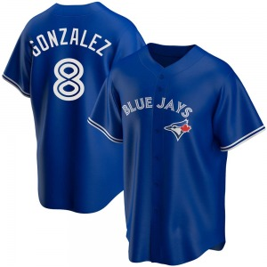 Alex Gonzalez Toronto Blue Jays Replica Alternate Jersey - Royal