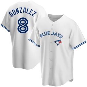 Alex Gonzalez Toronto Blue Jays Replica Home Jersey - White