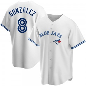 Alex Gonzalez Toronto Blue Jays Youth Replica Home Jersey - White