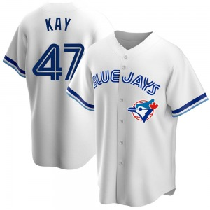 Anthony Kay Toronto Blue Jays Youth Replica Home Cooperstown Collection Jersey - White