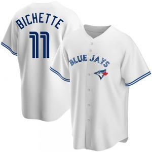 Bo Bichette Toronto Blue Jays Youth Replica Home Jersey - White