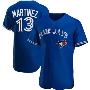Buck Martinez Toronto Blue Jays Authentic Alternate Jersey - Royal