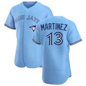 Buck Martinez Toronto Blue Jays Authentic Powder Alternate Jersey - Blue