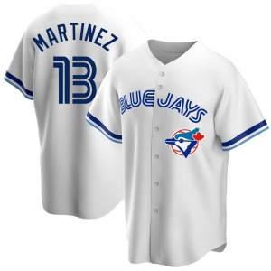 Buck Martinez Toronto Blue Jays Replica Home Cooperstown Collection Jersey - White