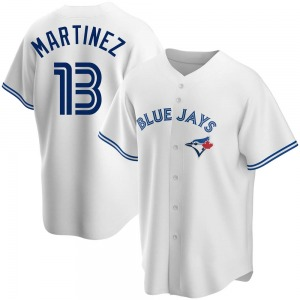 Buck Martinez Toronto Blue Jays Replica Home Jersey - White