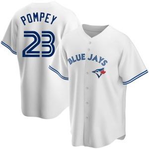 Dalton Pompey Toronto Blue Jays Replica Home Jersey - White