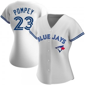 Dalton Pompey Toronto Blue Jays Women's Replica Home Jersey - White