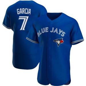 Damaso Garcia Toronto Blue Jays Authentic Alternate Jersey - Royal