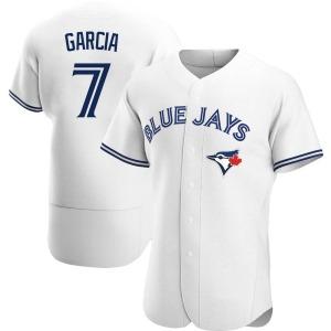 Damaso Garcia Toronto Blue Jays Authentic Home Jersey - White