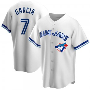 Damaso Garcia Toronto Blue Jays Replica Home Cooperstown Collection Jersey - White