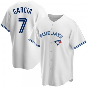 Damaso Garcia Toronto Blue Jays Replica Home Jersey - White