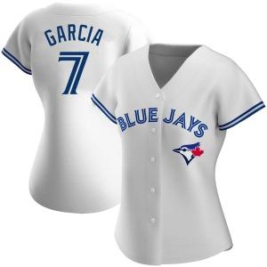 Damaso Garcia Toronto Blue Jays Women's Replica Home Jersey - White