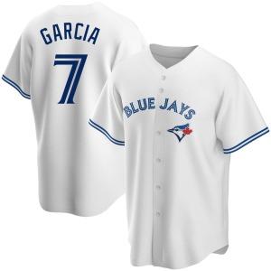 Damaso Garcia Toronto Blue Jays Youth Replica Home Jersey - White