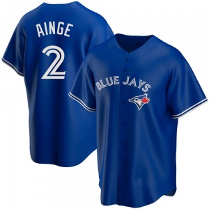 Danny Ainge Toronto Blue Jays Replica Alternate Jersey - Royal