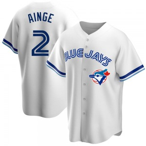 Danny Ainge Toronto Blue Jays Replica Home Cooperstown Collection Jersey - White