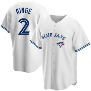 Danny Ainge Toronto Blue Jays Replica Home Jersey - White