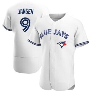Danny Jansen Toronto Blue Jays Authentic Home Jersey - White