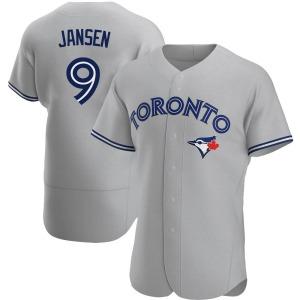 Danny Jansen Toronto Blue Jays Authentic Road Jersey - Gray