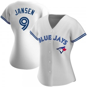 Danny Jansen Toronto Blue Jays Women's Replica Home Jersey - White