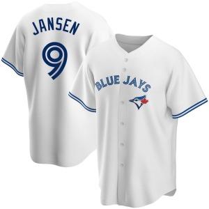 Danny Jansen Toronto Blue Jays Youth Replica Home Jersey - White