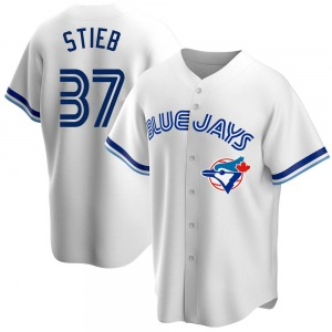 Dave Stieb Toronto Blue Jays Replica Home Cooperstown Collection Jersey - White