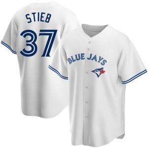 Dave Stieb Toronto Blue Jays Replica Home Jersey - White