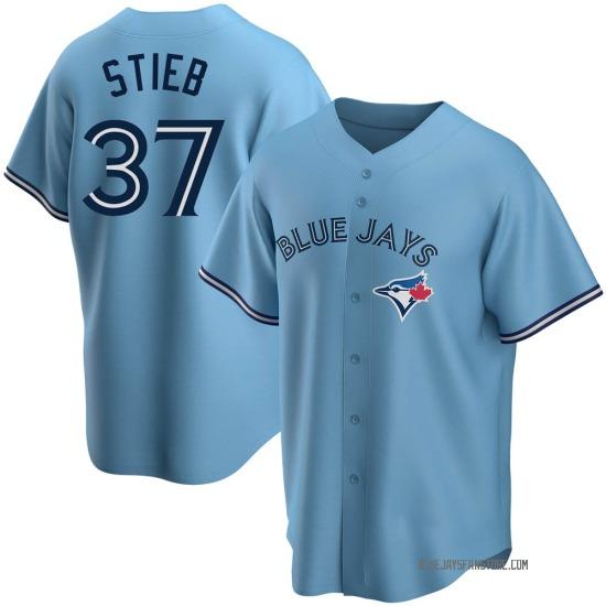 Dave Stieb Toronto Blue Jays Youth Replica Powder Alternate Jersey - Blue