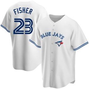 Derek Fisher Toronto Blue Jays Replica Home Jersey - White