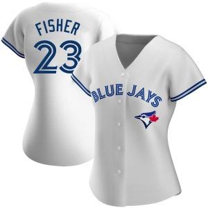 Derek Fisher Toronto Blue Jays Women's Authentic Home Jersey - White