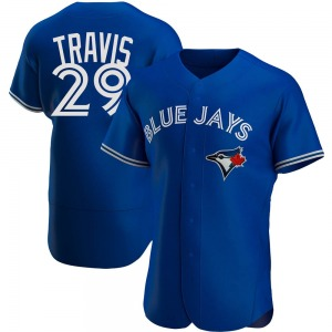 Devon Travis Toronto Blue Jays Authentic Alternate Jersey - Royal