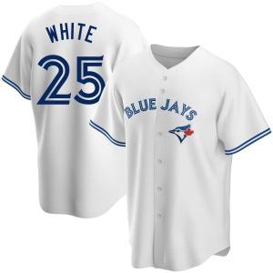 Devon White Toronto Blue Jays Replica Home Jersey - White