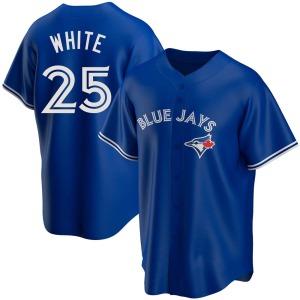 Devon White Toronto Blue Jays Replica Royal Alternate Jersey - White