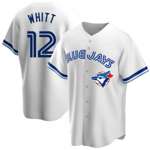 Ernie Whitt Toronto Blue Jays Replica Home Cooperstown Collection Jersey - White