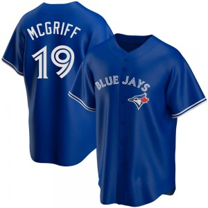 Fred Mcgriff Toronto Blue Jays Replica Alternate Jersey - Royal