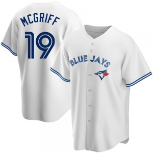 Fred Mcgriff Toronto Blue Jays Replica Home Jersey - White