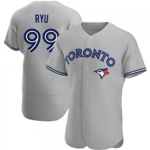 Hyun-Jin Ryu Toronto Blue Jays Authentic Road Jersey - Gray