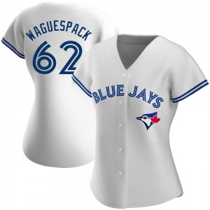 Jacob Waguespack Toronto Blue Jays Women's Replica Home Jersey - White