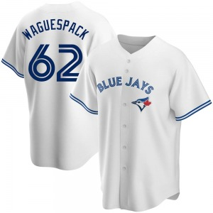 Jacob Waguespack Toronto Blue Jays Youth Replica Home Jersey - White