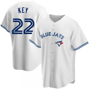 Jimmy Key Toronto Blue Jays Youth Replica Home Jersey - White