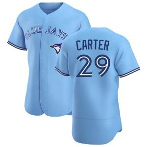 Joe Carter Toronto Blue Jays Authentic Powder Alternate Jersey - Blue