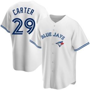 Joe Carter Toronto Blue Jays Replica Home Jersey - White