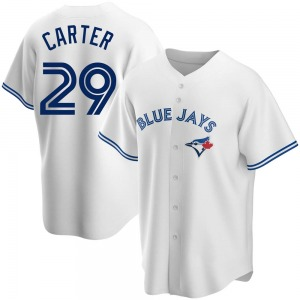 Joe Carter Toronto Blue Jays Youth Replica Home Jersey - White
