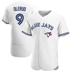 John Olerud Toronto Blue Jays Authentic Home Jersey - White