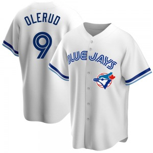 John Olerud Toronto Blue Jays Youth Replica Home Cooperstown Collection Jersey - White