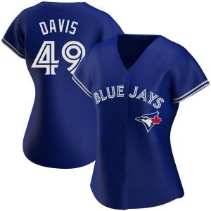 Jonathan Davis Toronto Blue Jays Women's Authentic Alternate Jersey - Royal