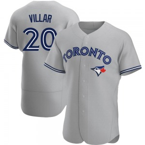 Jonathan Villar Toronto Blue Jays Authentic Road Jersey - Gray