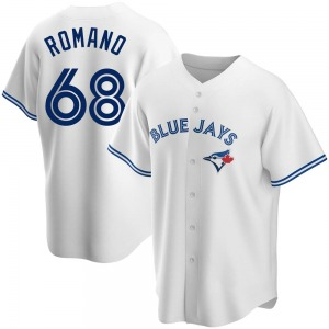 Jordan Romano Toronto Blue Jays Replica Home Jersey - White